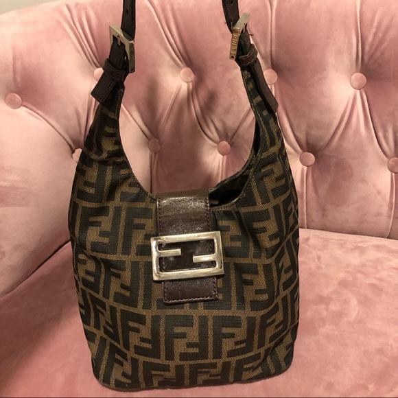 e6c7d9bd878 Fendi Bags | Zucca Hobo Bag | Poshmark